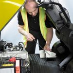 Forklift truck thorough examination