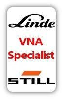 Linde and Still VNA specialist