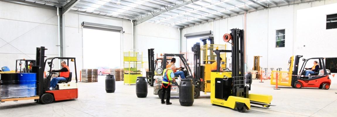 Forklift Driver Training Nottingham Derby Emh Ltd
